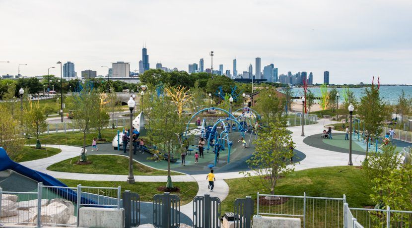 Chicago Edwin C Berry Playground Burnham Park Nutoys