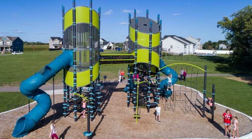 Super NetPlex Play Structure for Ages 5-12