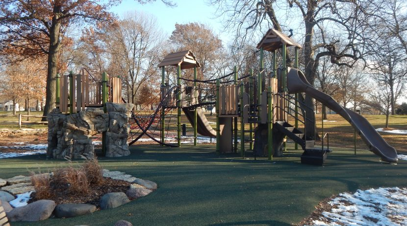 Spring Rock Park Playground in Western Springs, IL