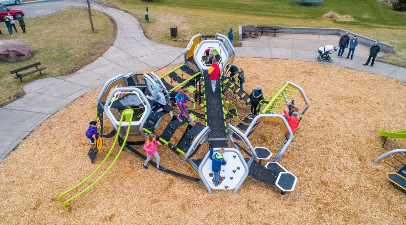 Landscape Structures Hedra Play Structure