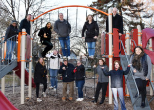 NuToys staff on a playground