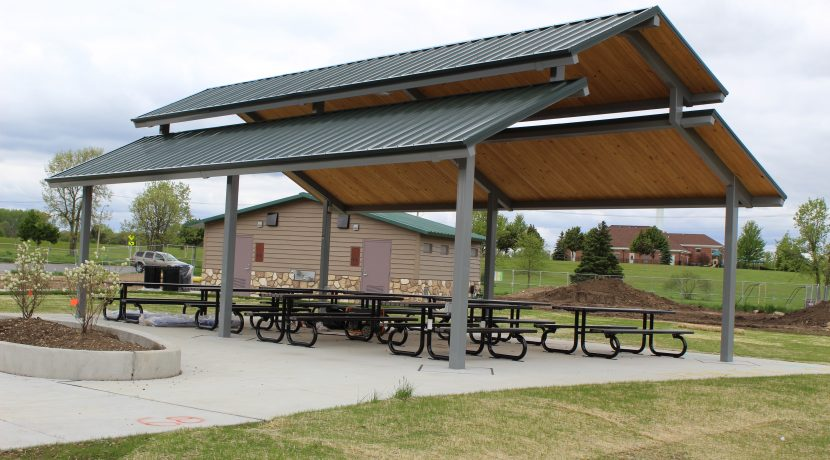 Shelter at Kaper Park in Cary, IL