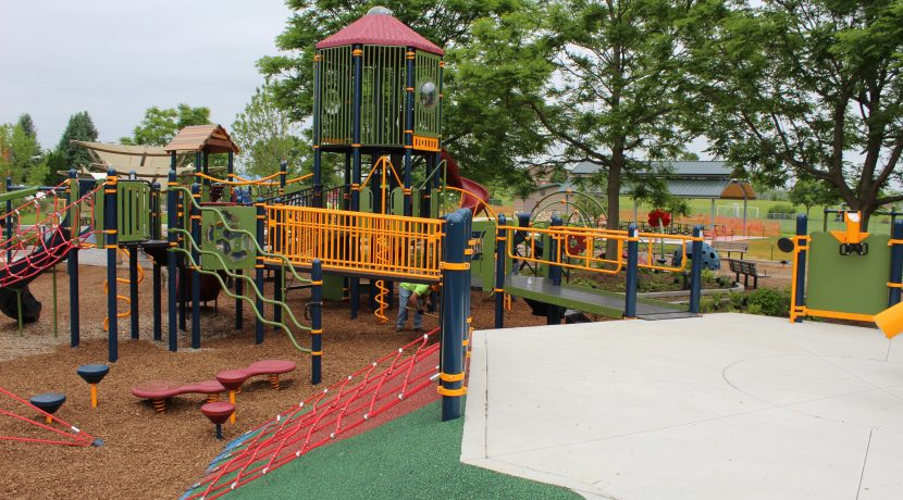 Kaper Park Playground in Cary, IL