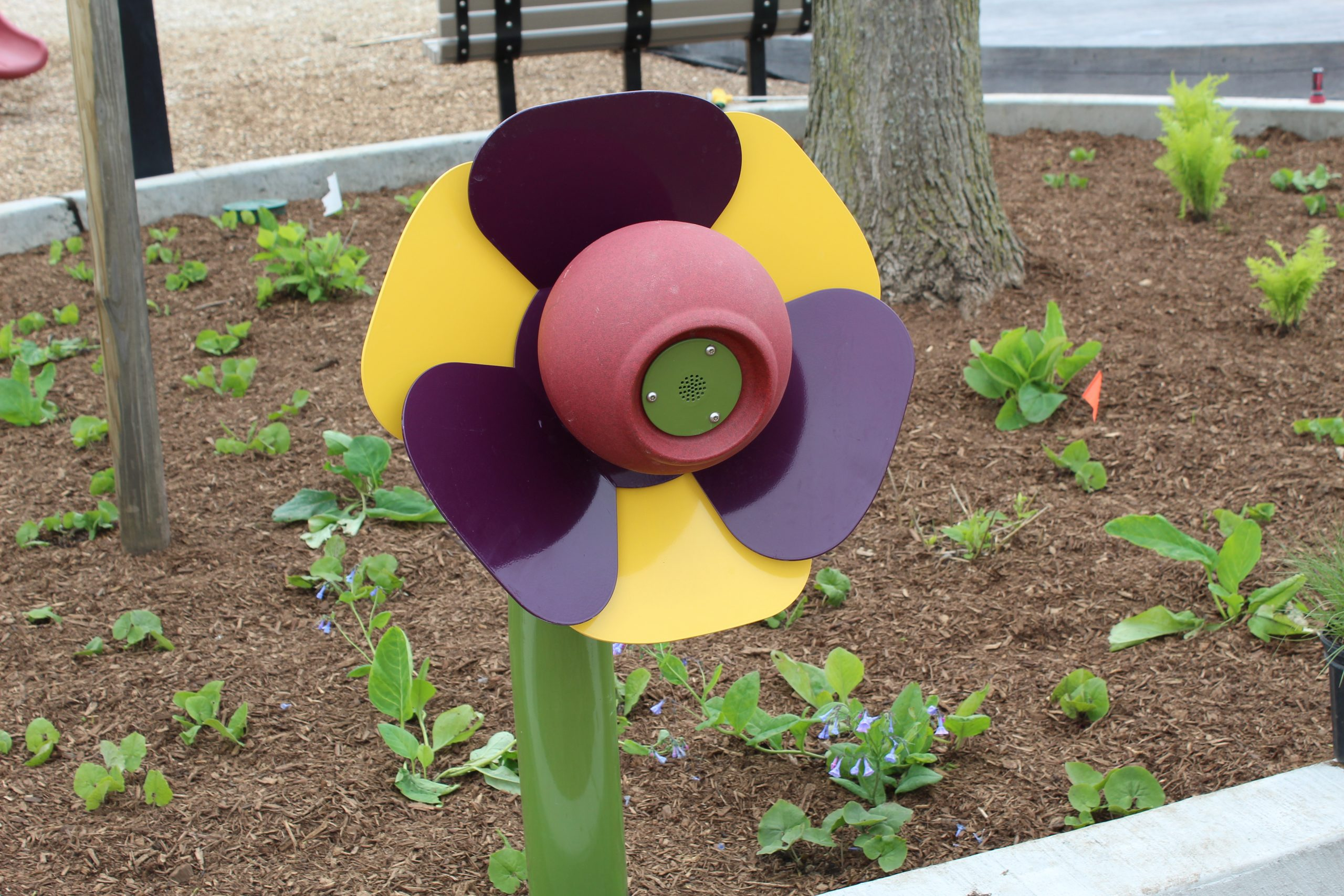 Flower Talk Tube at Kaper Park in Cary, IL