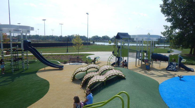 Heritage Park Playground in Wheeling, IL