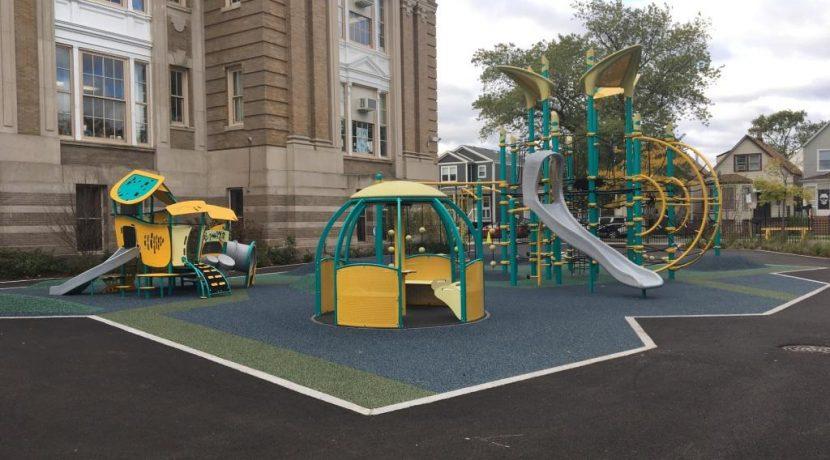 Monroe Elementary School Playground in Chicago, IL
