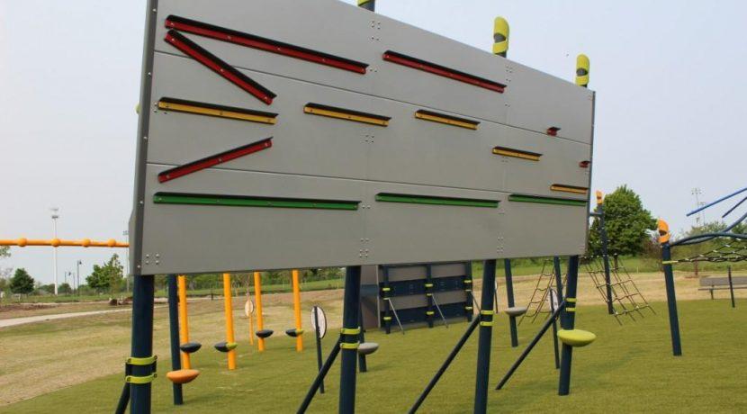 Ledge Hanger at Heritage Park in Homer Glen, IL