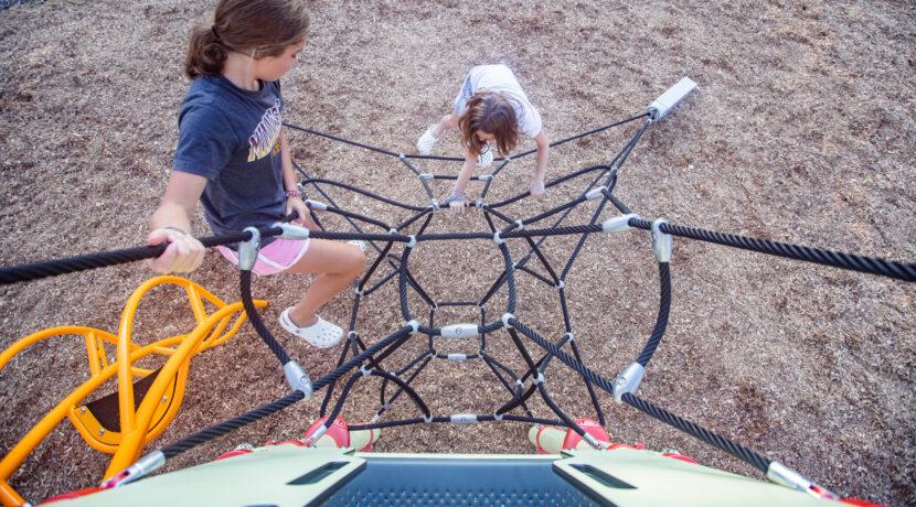 Zenith Net Climber by Landscape Structures