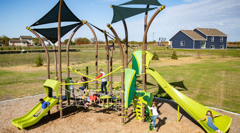 TreeTops Play Structure for Ages 5-12