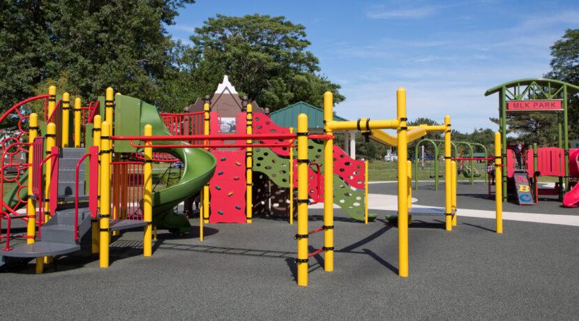 MLK Park Playground in Hammond, IN