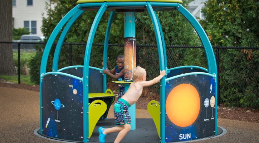 We-Go-Round at LaPark Playground in LaPorte, IN