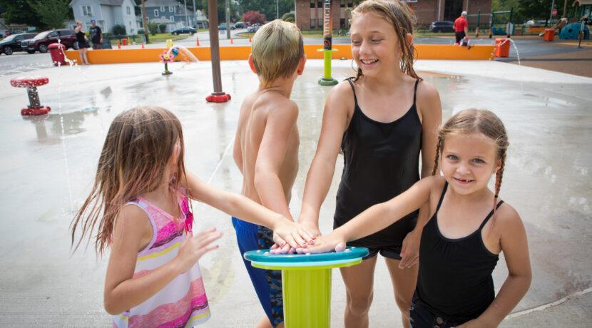 LaPark Splash Pad in LaPorte, IN