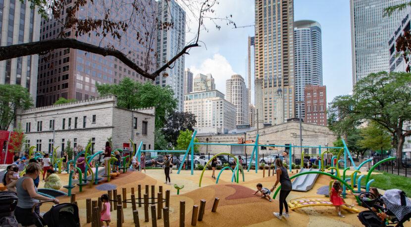 Seneca Park in Chicago